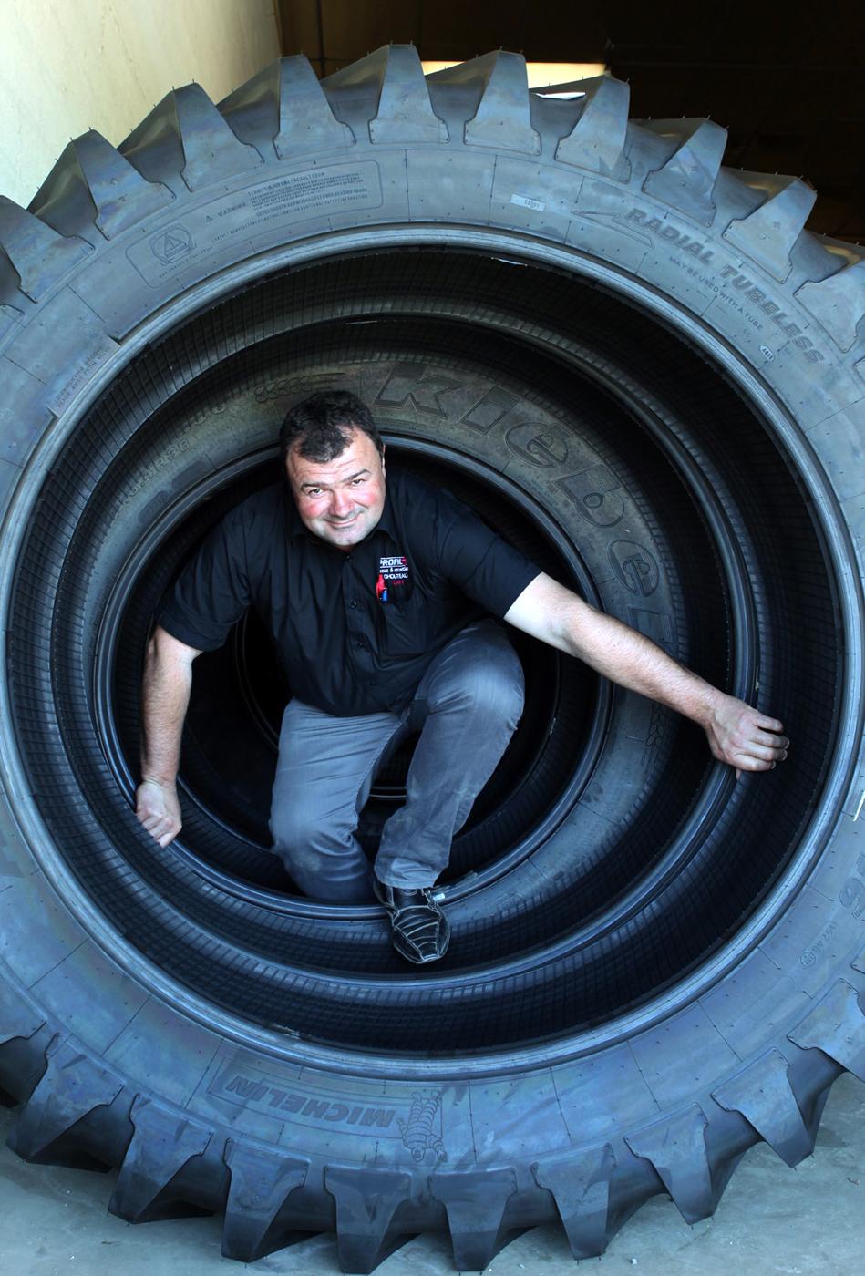 Tony Lussiez pour Michelin.