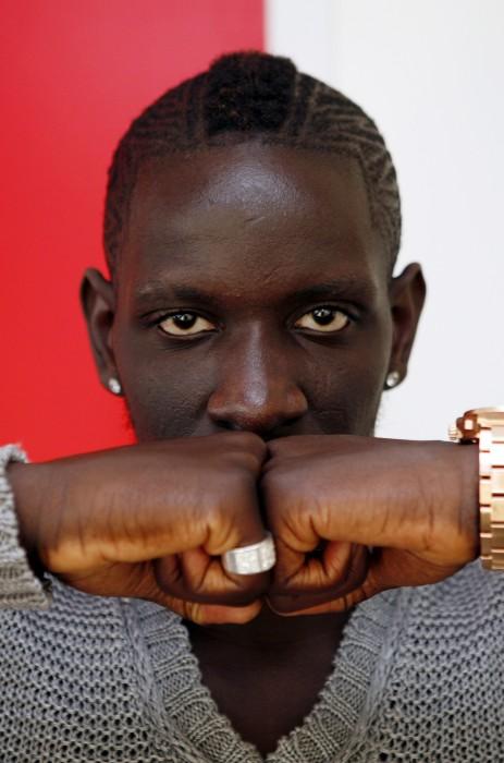 Mamadou Sakho, footballeur.