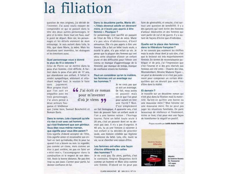 Clara Magazine - page 2