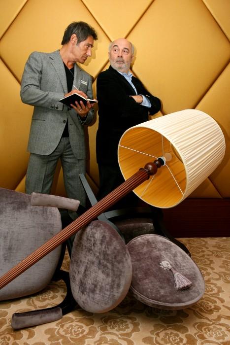 Gérard Lanvin et Gérard Jugnot, acteurs.