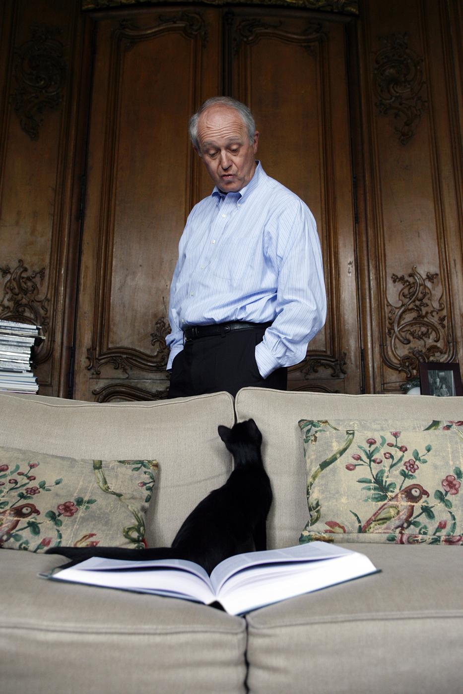 Frédéric Vitoux, écrivain.